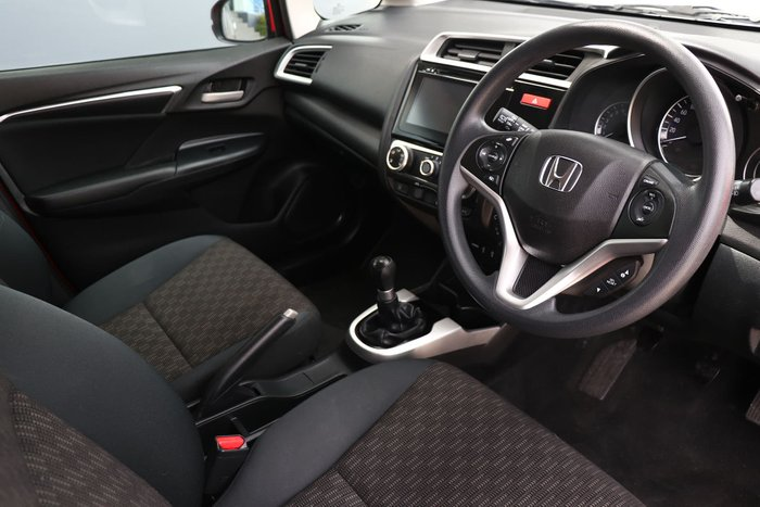 2014 Honda Jazz VTi GF MY15 Red