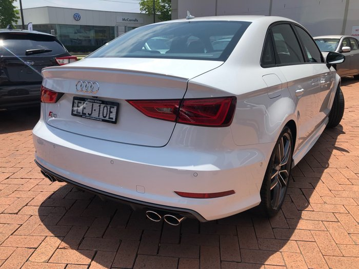 2015 Audi S3 8V MY15 Four Wheel Drive White
