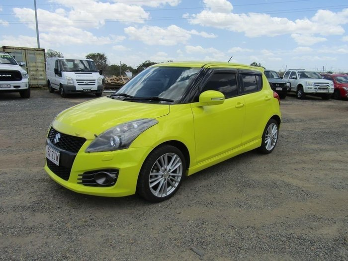 2014 Suzuki Swift SPORT FZ MY14 Yellow