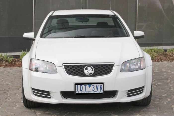 2013 Holden Ute Omega VE Series II MY12.5 White