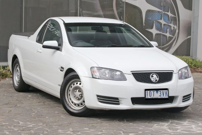 2013 Holden Ute Omega VE Series II MY12.5 White