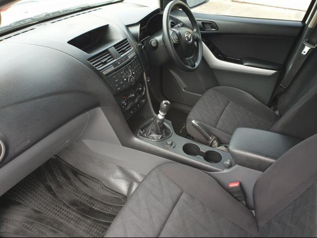2015 Mazda BT-50 Mazda BT-50 Q 6M 3.2L DUAL C/CH XT 4X4 Cool White
