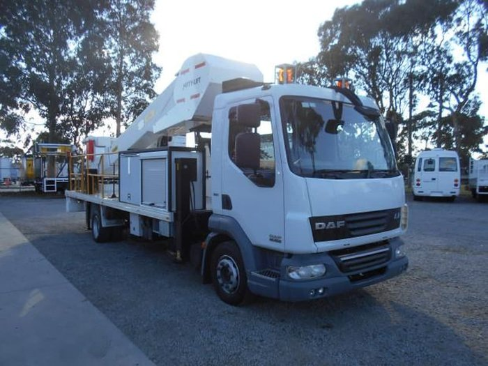 2011 DAF LF 45 null null WHITE