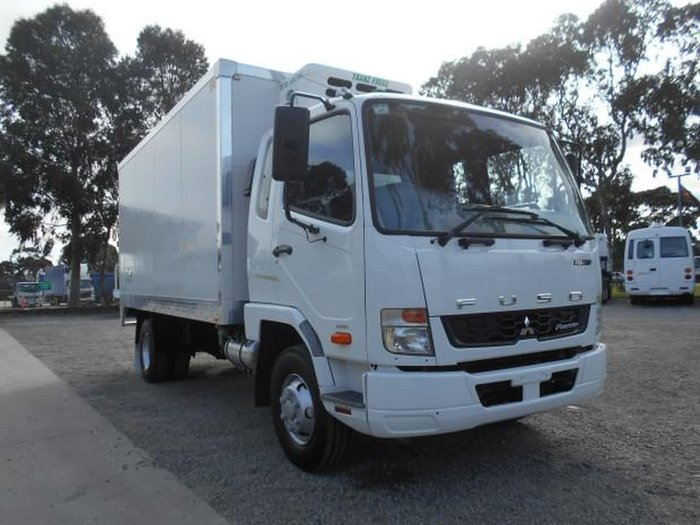 2014 FUSO FIGHTER 1024 #REFRIGERATED# null null WHITE