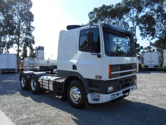 2002 DAF CF 85 SERIES null null WHITE