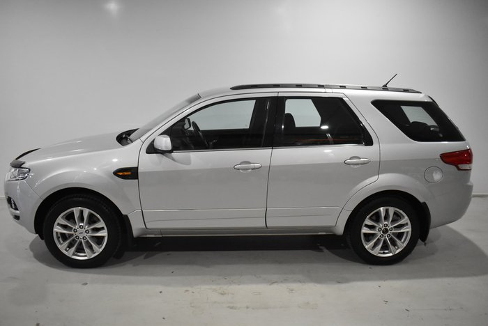 2011 Ford Territory TX SZ Silver