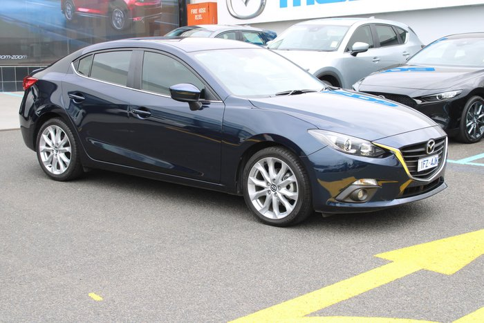 2014 Mazda 3 SP25 BM Series Blue