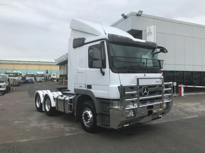 2015 MERCEDES-BENZ 2644 ACTROS null null WHITE