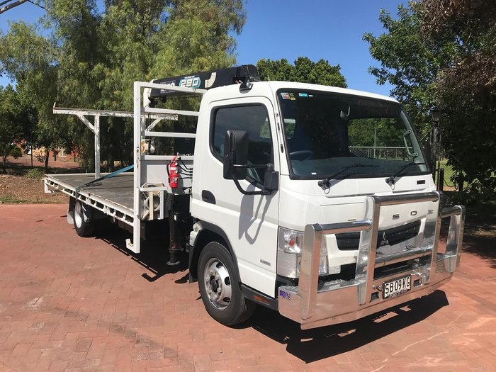 2015 MITSUBISHI CANTER 918 FE null null White