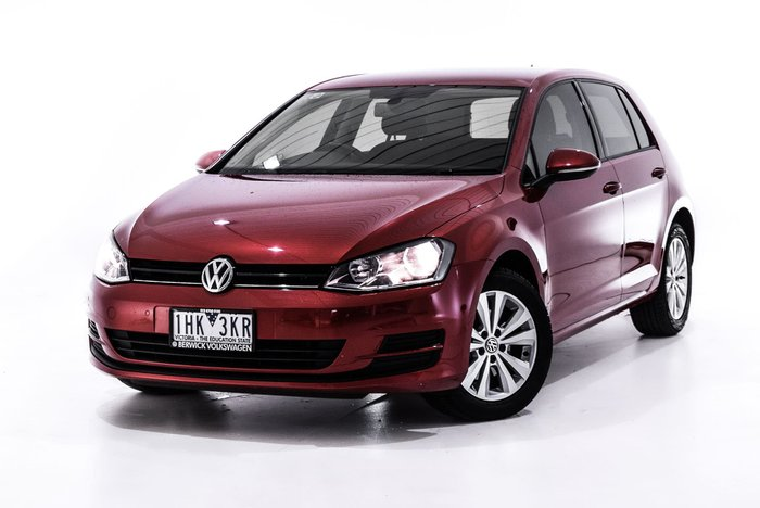 2015 Volkswagen Golf 92TSI Comfortline 7 MY16 Red