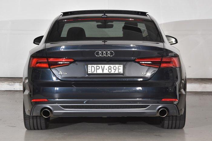 2017 Audi A5 sport F5 MY17 Blue