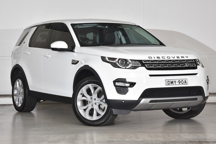 2017 Land Rover Discovery Sport TD4 150 HSE L550 MY17 4X4 Constant White