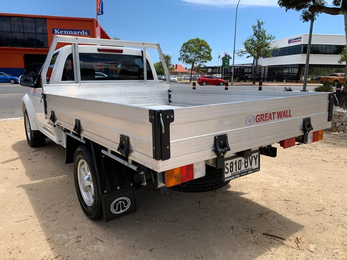 2018 Great Wall Steed K2 MY18 4X4 On Demand White