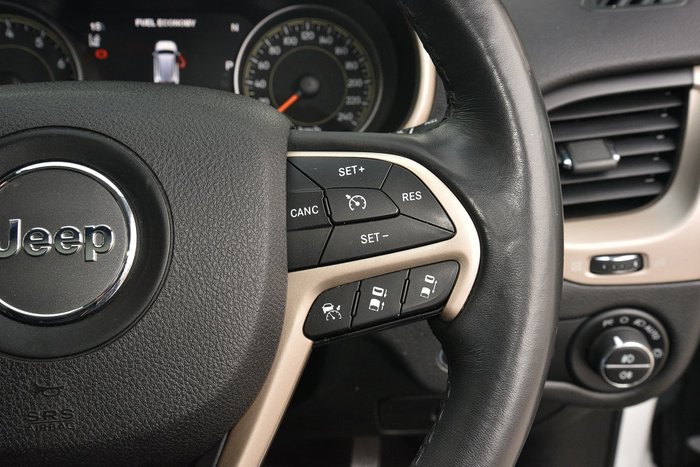 2014 Jeep Cherokee Limited KL MY15 4X4 On Demand White