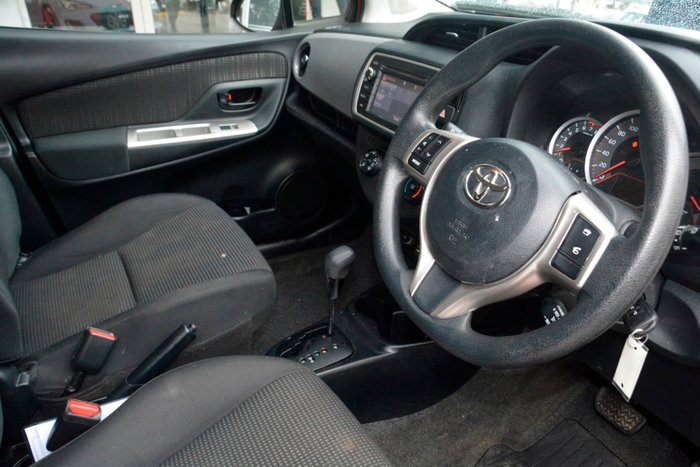 2016 Toyota Yaris Ascent NCP130R Red