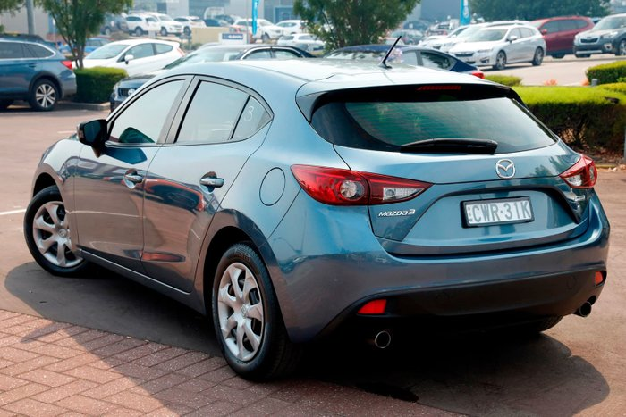 2014 Mazda 3 Neo BM Series Blue