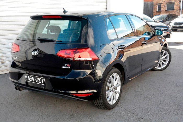 2015 Volkswagen Golf 110TSI Highline 7 MY16 Black