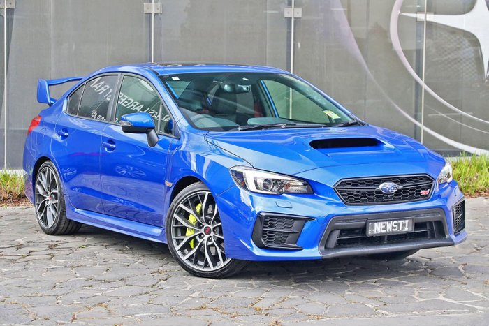 2019 Subaru WRX STI Premium V1 MY20 Four Wheel Drive Blue