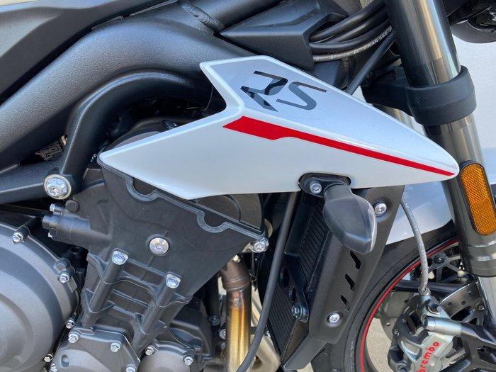 2019 Triumph STREET TRIPLE RS White