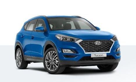 2019 HYUNDAI TUCSON ACTIVE X TL4 TUCSON WG ACTIVE X 2.0P AUTO Aqua Blue Mica