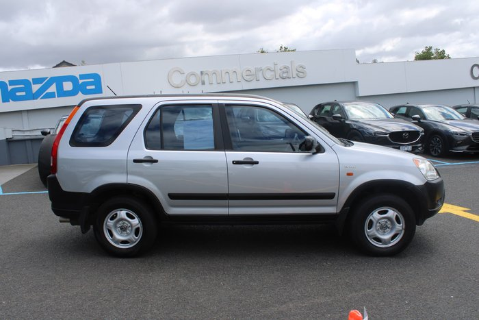 2004 Honda CR-V RD MY04 4X4 On Demand Silver