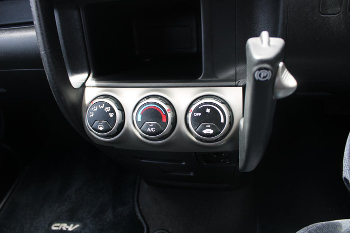 2004 Honda CR-V RD MY04 4X4 On Demand Silver