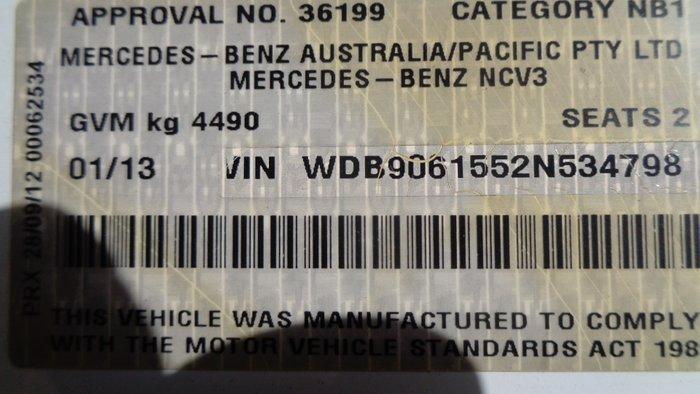 2013 Mercedes-Benz Sprinter 516 CDI White