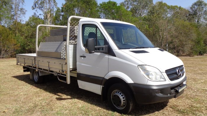 2013 Mercedes-Benz Sprinter 516 CDI White
