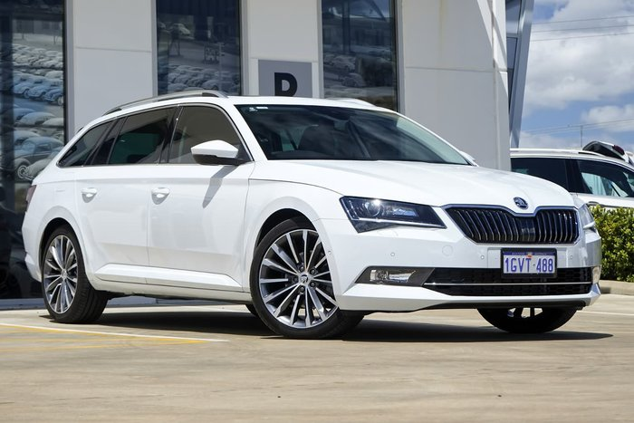 2018 SKODA Superb 162TSI NP MY18.5 Moon White Metallic