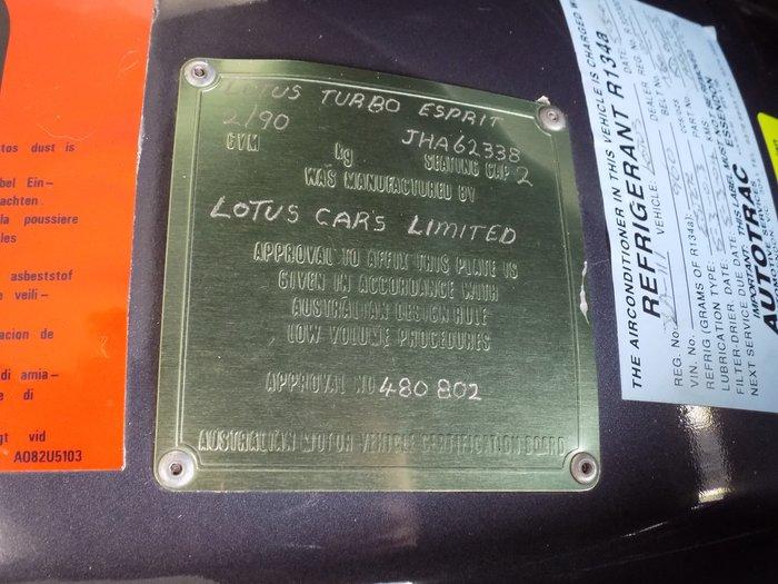 1990 Lotus Esprit S5 S5 Blue