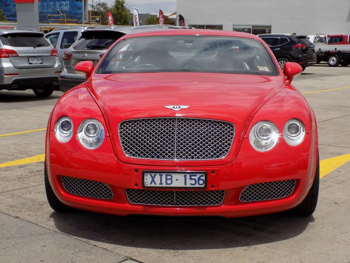 2005 Bentley Continental GT 3W Four Wheel Drive Red