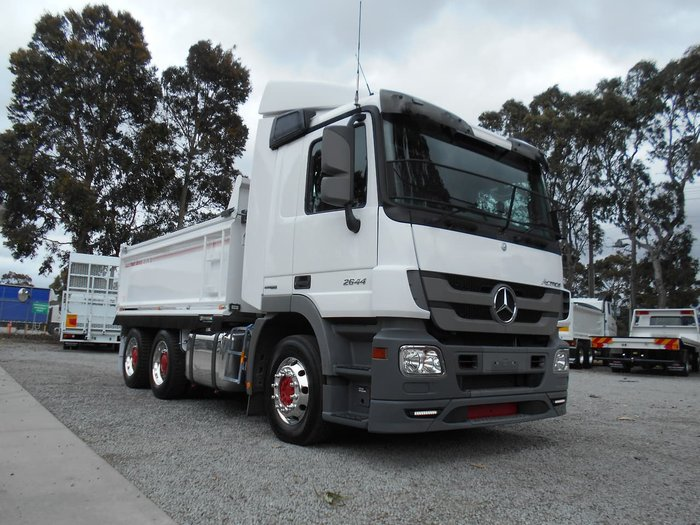 2012 MERCEDES-BENZ ACTROS 2644 null null White