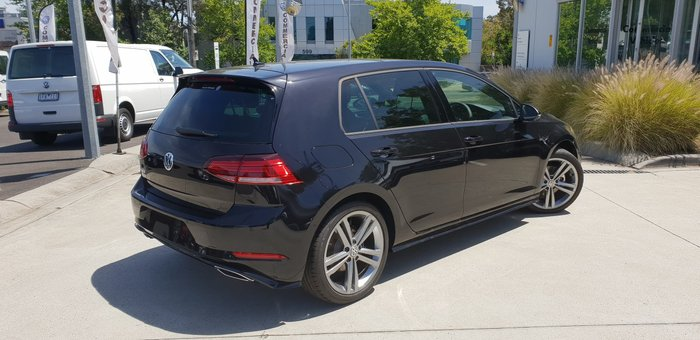 2019 Volkswagen Golf 110TSI Highline 7.5 MY20 Black