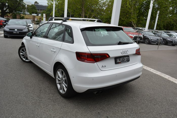 2015 Audi A3 Attraction 8V MY16 White