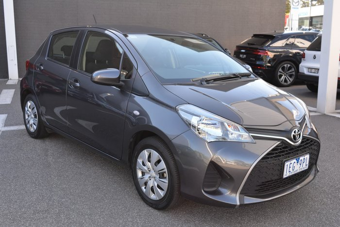 2015 Toyota Yaris Ascent NCP130R Grey