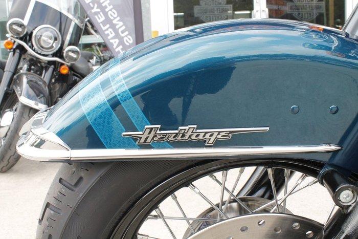 2020 Harley-davidson FLHCS HERITAGE CL S 114 CUS TT TURQUOISE