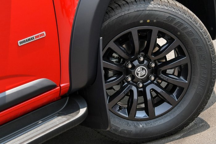 2019 Holden Colorado Z71 RG MY20 4X4 Dual Range ABSOLUTE RED