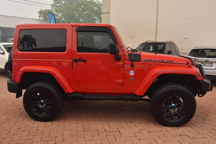 2015 Jeep Wrangler Overland JK MY15 4X4 Dual Range Red
