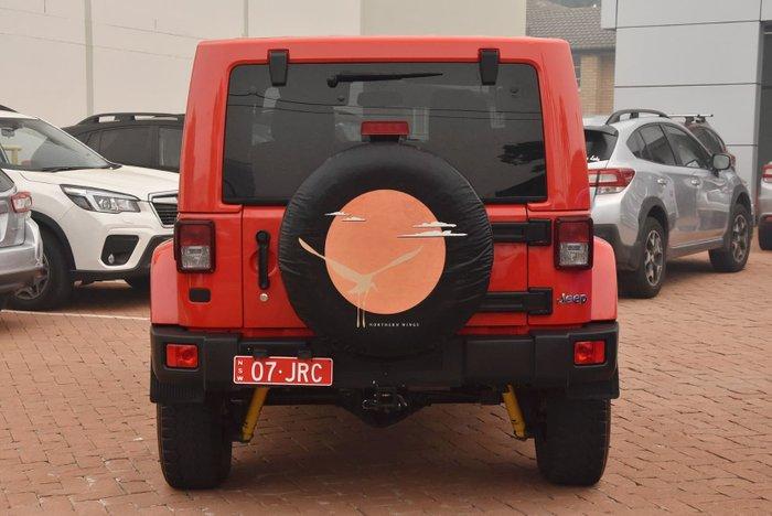 2015 Jeep Wrangler Overland JK MY15 4X4 Dual Range Red