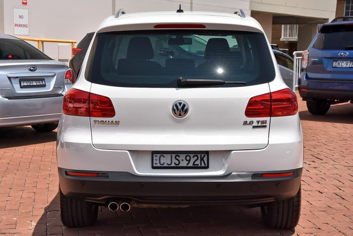 2012 Volkswagen Tiguan 155TSI 5N MY12.5 Four Wheel Drive White
