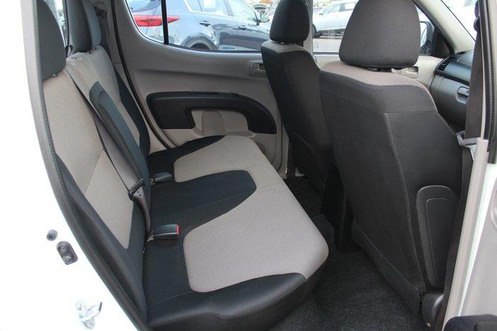 2015 Mitsubishi Triton GLX MN MY15 4X4 Dual Range White