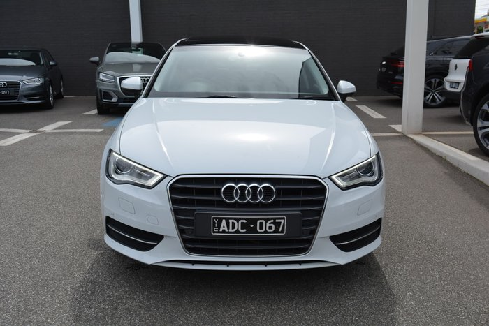2014 Audi A3 Attraction 8V MY15 White