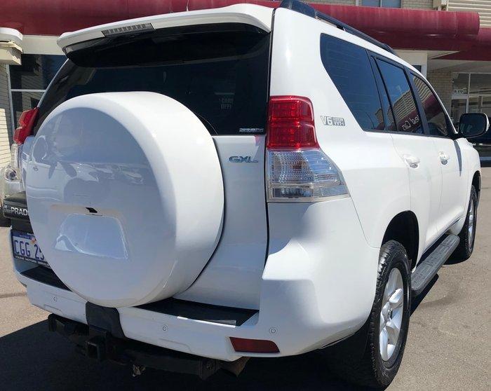 2010 Toyota Landcruiser Prado GXL GRJ150R 4X4 Constant White
