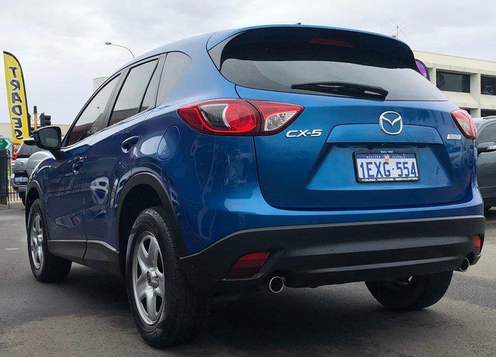 2013 Mazda CX-5 Maxx KE Series MY13 Blue