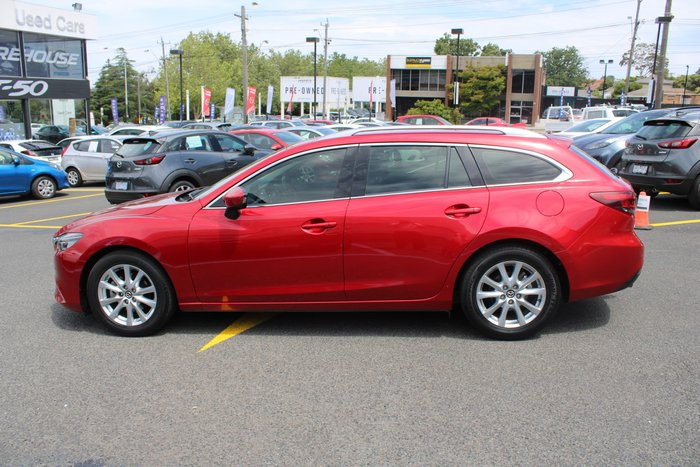 2014 Mazda 6 Touring GJ MY14 Red