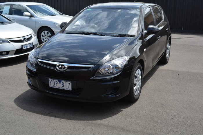 2010 Hyundai i30 Trophy FD MY11 Black