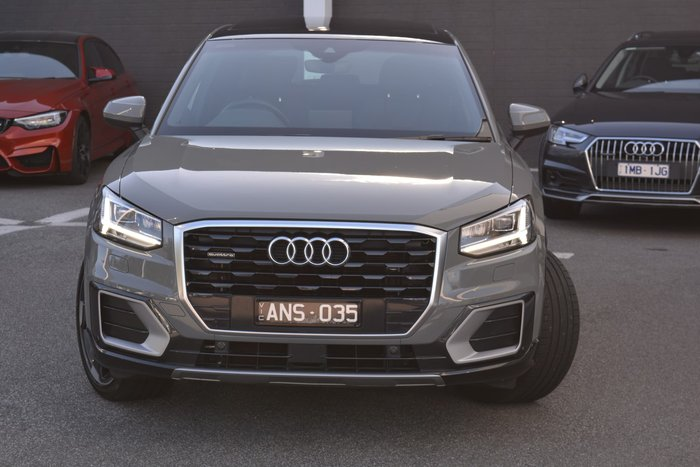 2017 Audi Q2 sport GA MY18 Four Wheel Drive Grey