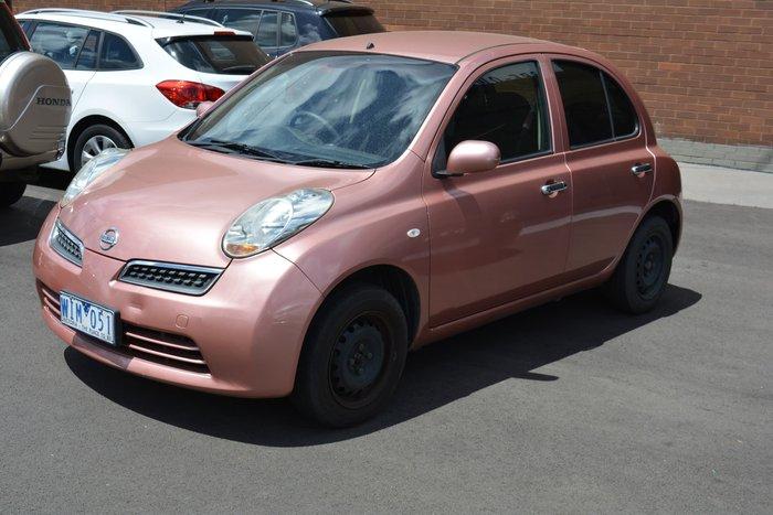 2008 Nissan Micra K12 Pink
