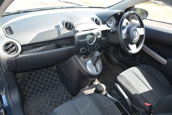 2007 Mazda 2 Genki DE Series 1 Grey