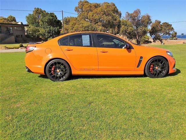 2013 HSV CLUBSPORT R8 GEN F Orange